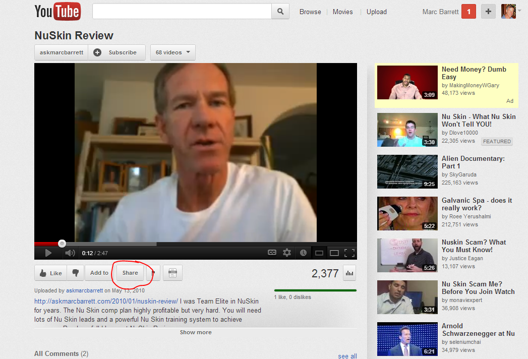 Embedding Easy Video Player 2 And YouTube Videos In Wordpress ...