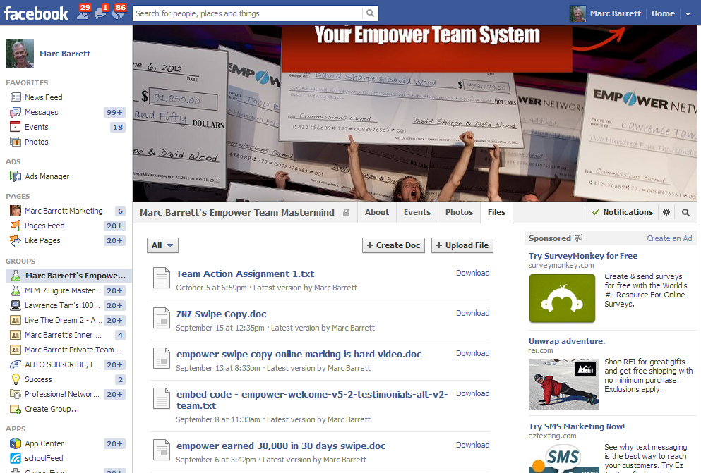 empower network team site
